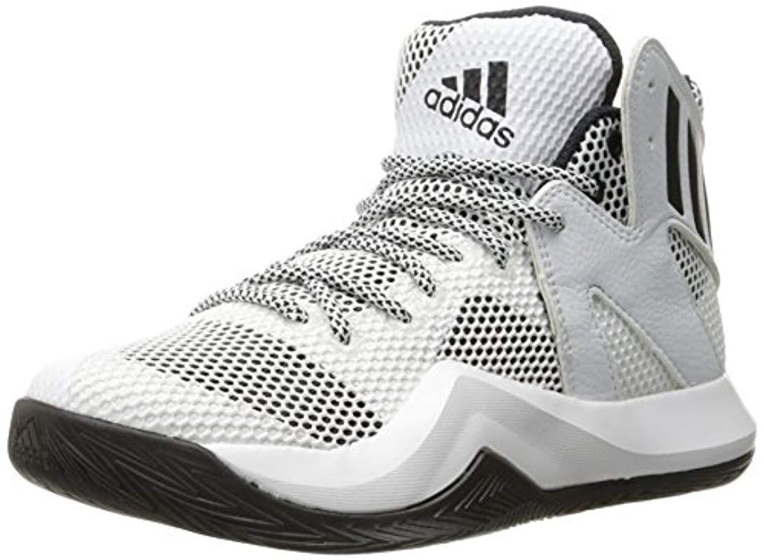 11d48d673bd6 White Performance For Adidas Basketball Crazy In Lyst Shoe Bounce nwT0aPxq5q