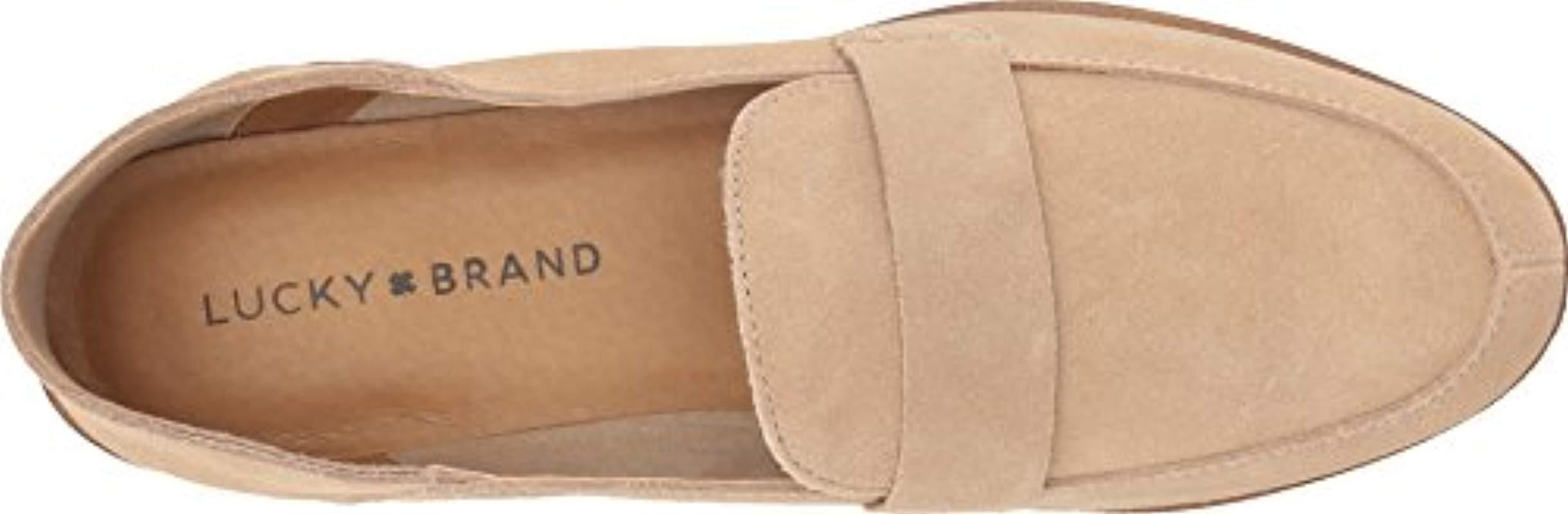 0827eb41d03 Lucky Brand - Natural Chennie Loafer - Lyst. View fullscreen