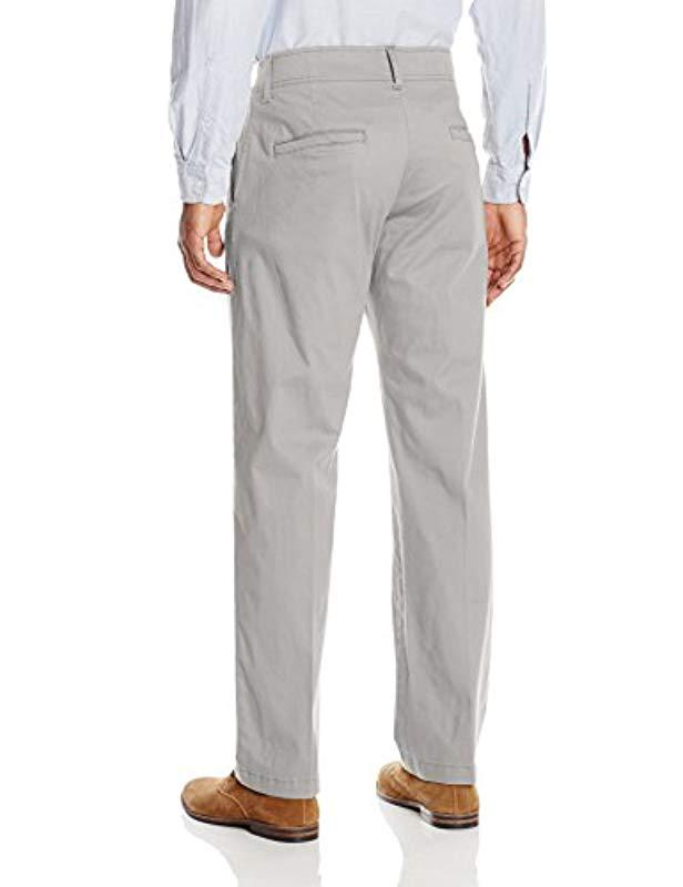 d16d7c91 Lyst - Lee Jeans Performance Series Extreme Comfort Khaki Pant in Gray for  Men - Save 31%