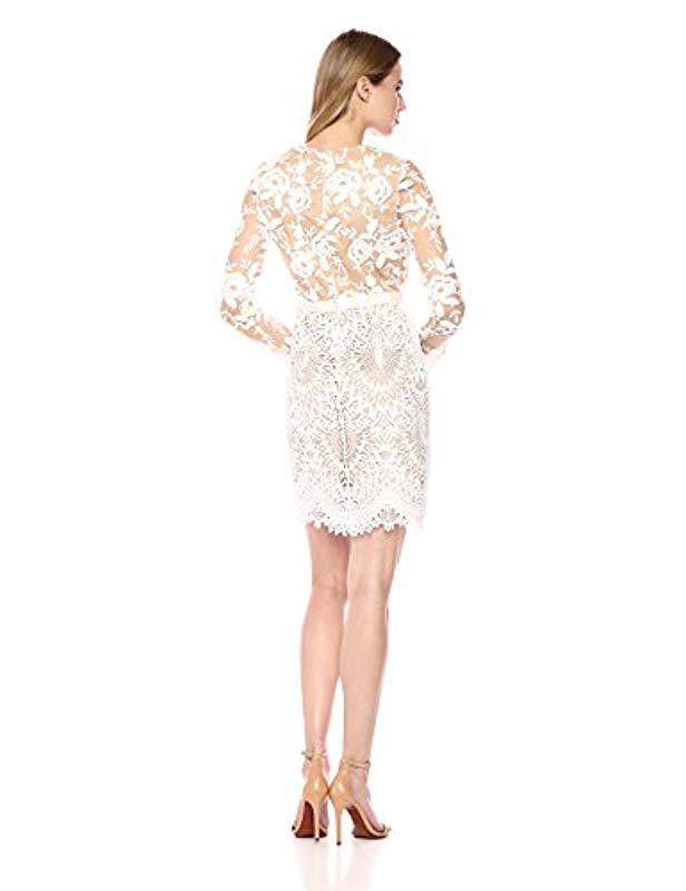 83c58abec21c ML Monique Lhuillier 444740 in White - Save 66% - Lyst