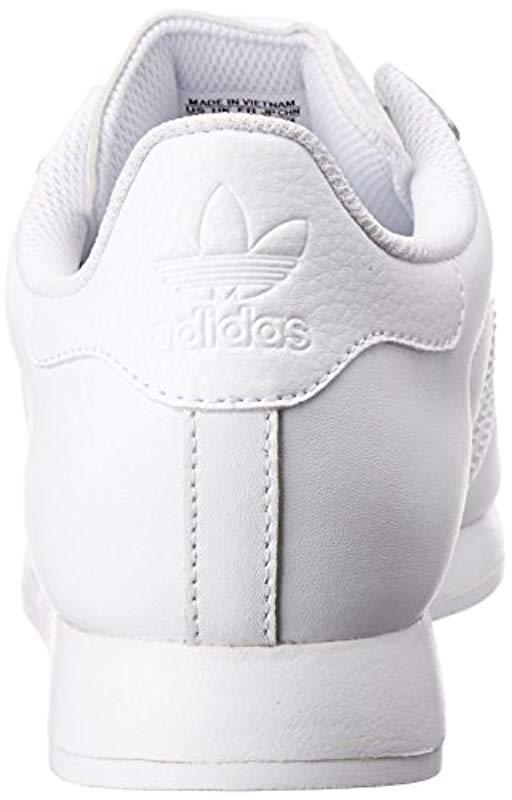 watch 22114 e3f03 Adidas Originals - White Adidas Samoa Fashion Sneaker for Men - Lyst. View  fullscreen