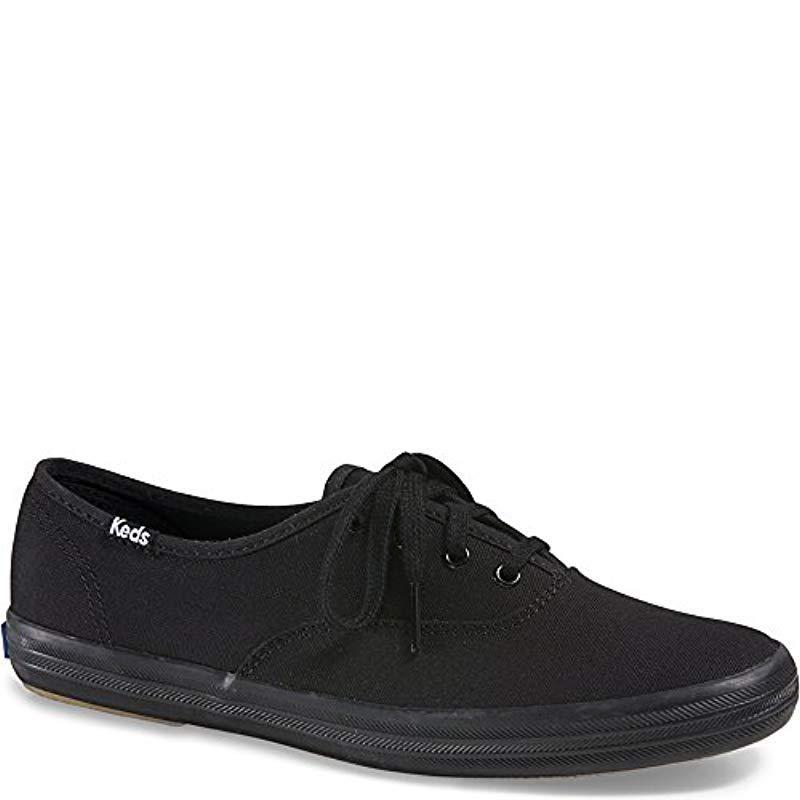Keds - Black Champion Original Canvas Sneaker - Lyst. View fullscreen e263951d9