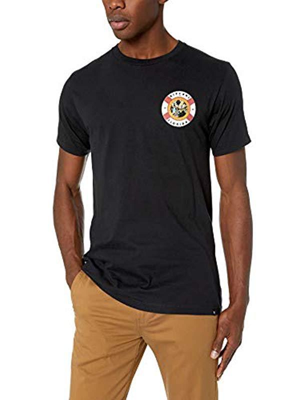 eb16aaaed72 Lyst - Rip Curl Florida Coast Premium T Shirt in Black for Men