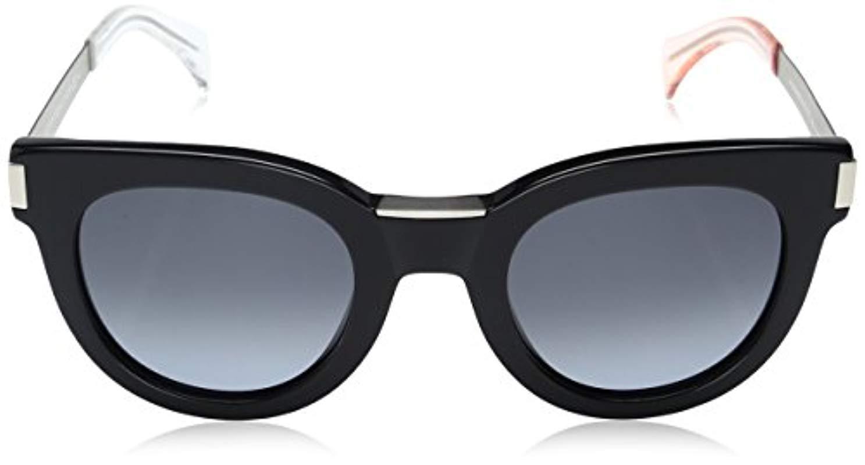 a71b8bd5cef0 Tommy Hilfiger - Th1379s Rectangular Sunglasses Black Matte Palladium/gray  Gradient 49 Mm - Lyst. View fullscreen