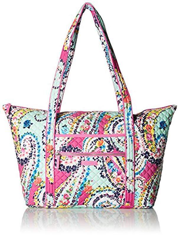 056124f684ab Vera Bradley - Multicolor Iconic Miller Travel Bag