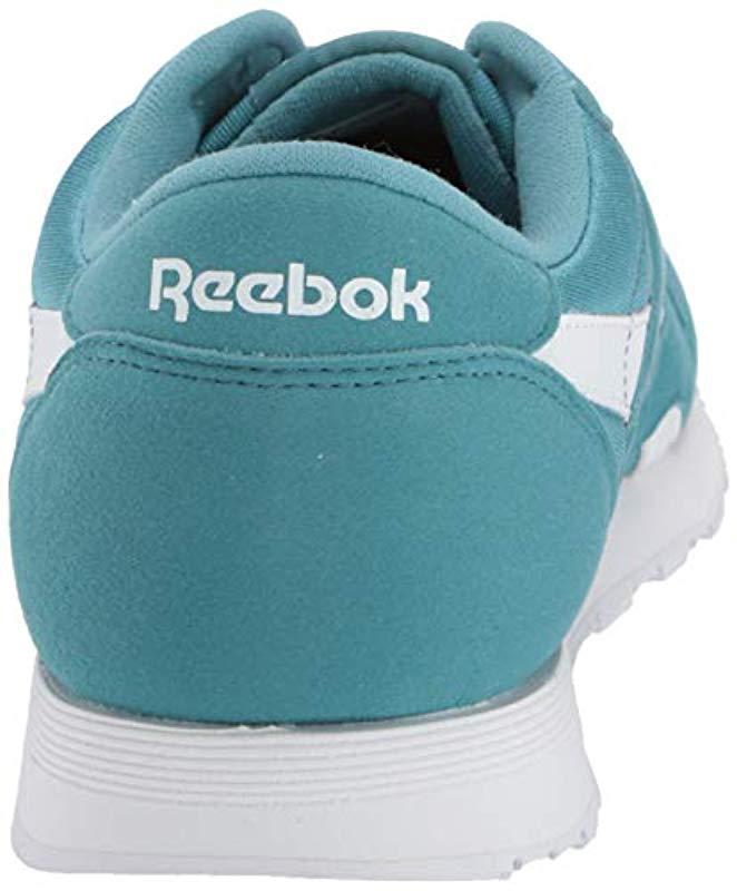 65a1849c524 Lyst - Reebok Classic Nylon Sneaker Mineral Mist white 5.5 M Us in White