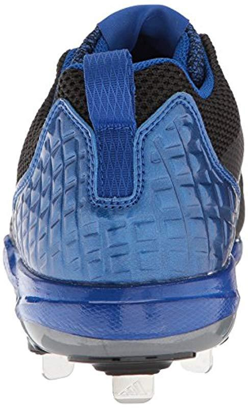 best sneakers 16ba3 5eeea Adidas - Freak X Carbon Mid Baseball Shoe, Blackmetallic Silvercollegiate  Royal. View fullscreen