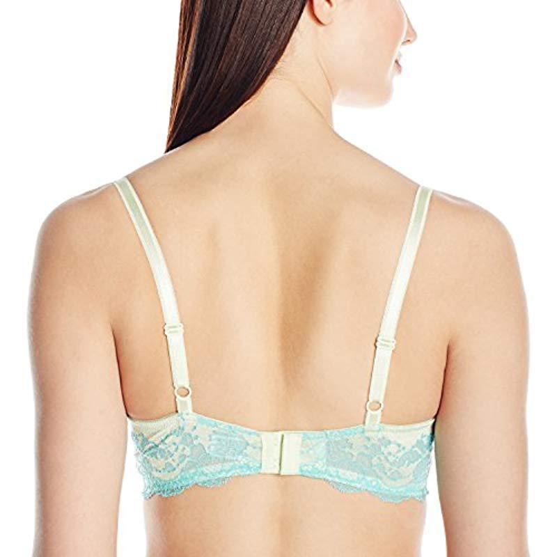 14231b92c2 Wacoal - Blue Lace Affair  Underwire Bra - Lyst. View fullscreen