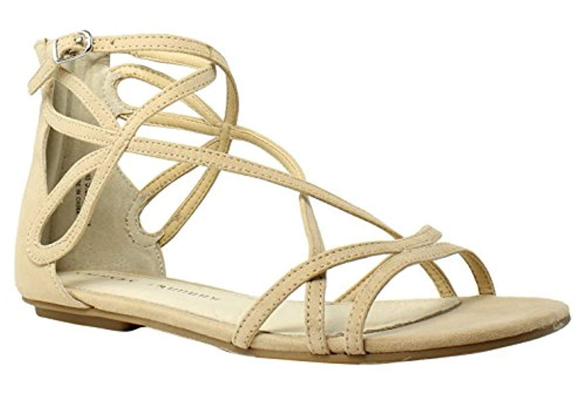 9431984437bf Lyst - Chinese Laundry Penny Gladiator Sandal - Save 44.11764705882353%