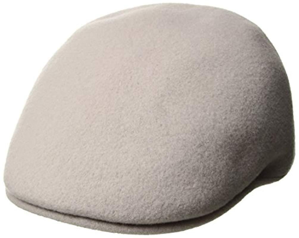 d9741efd26d0 Kangol Seamless Wool 507 Hat in Gray for Men - Lyst