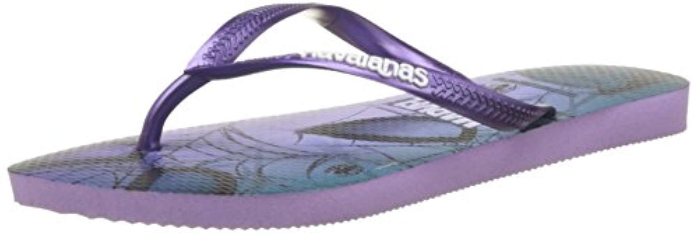 2818b538b6de Havaianas Slim Spider-man Flip Flops in Purple - Save 57% - Lyst