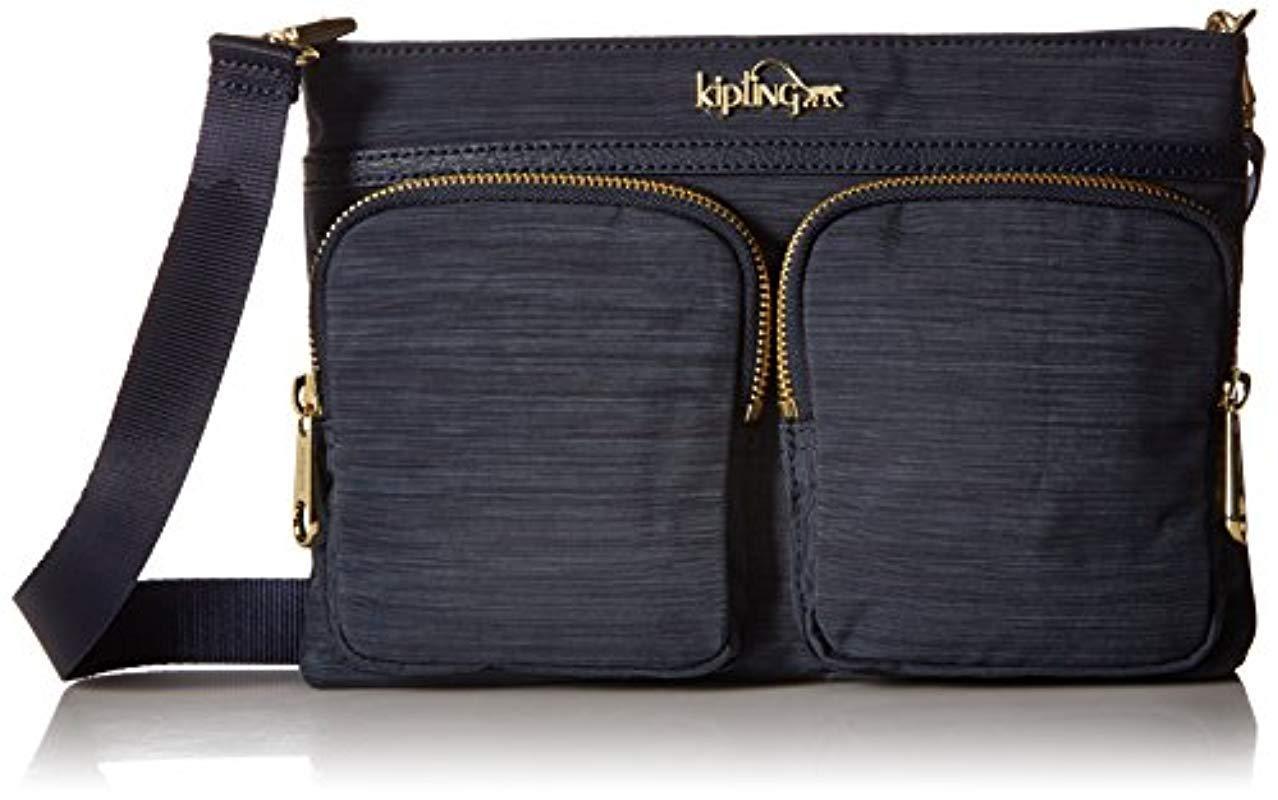 91782074796 Kipling Tessa 5-in-1 True Dazz Navy Convertible Handbag in Blue - Lyst