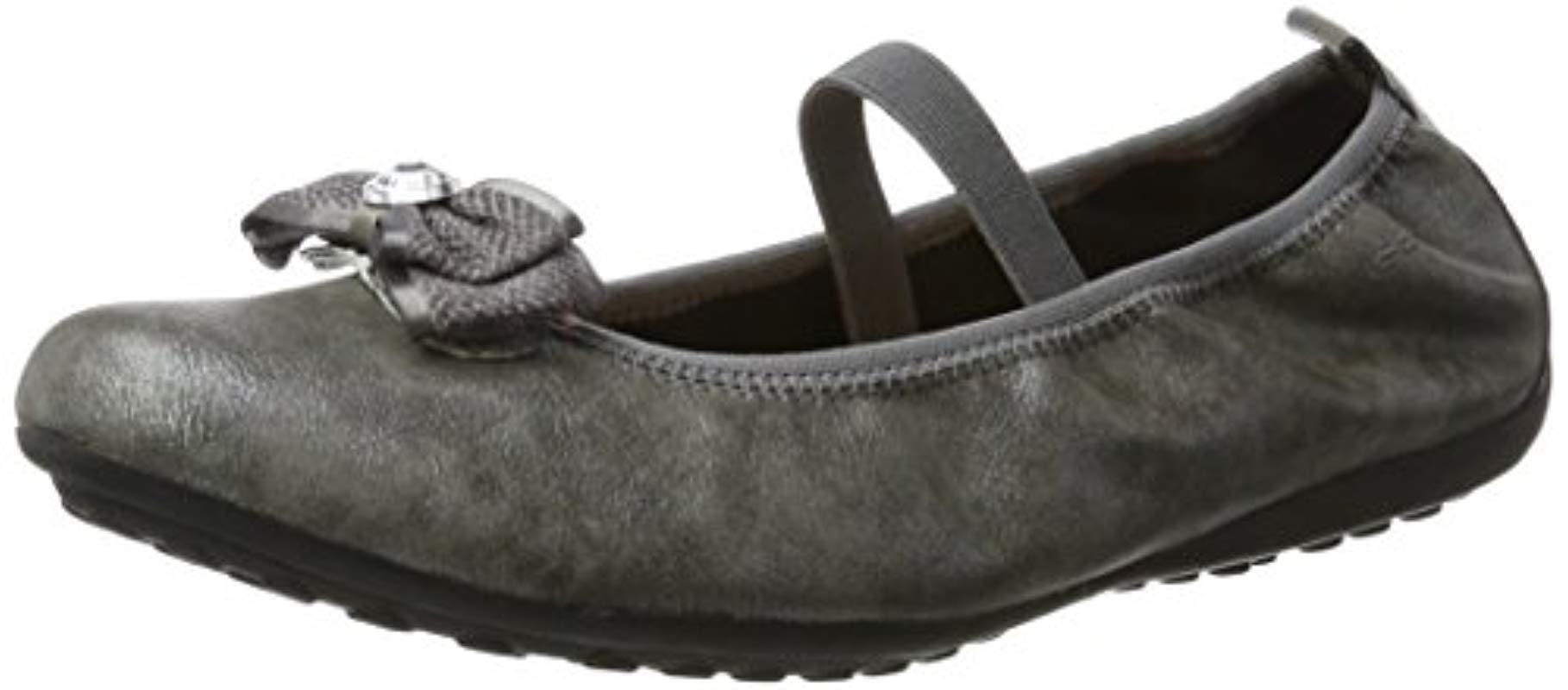 081df2870 Geox Unisex Adults  Jr Piuma Ballerine G Closed Toe Sandals in Gray ...