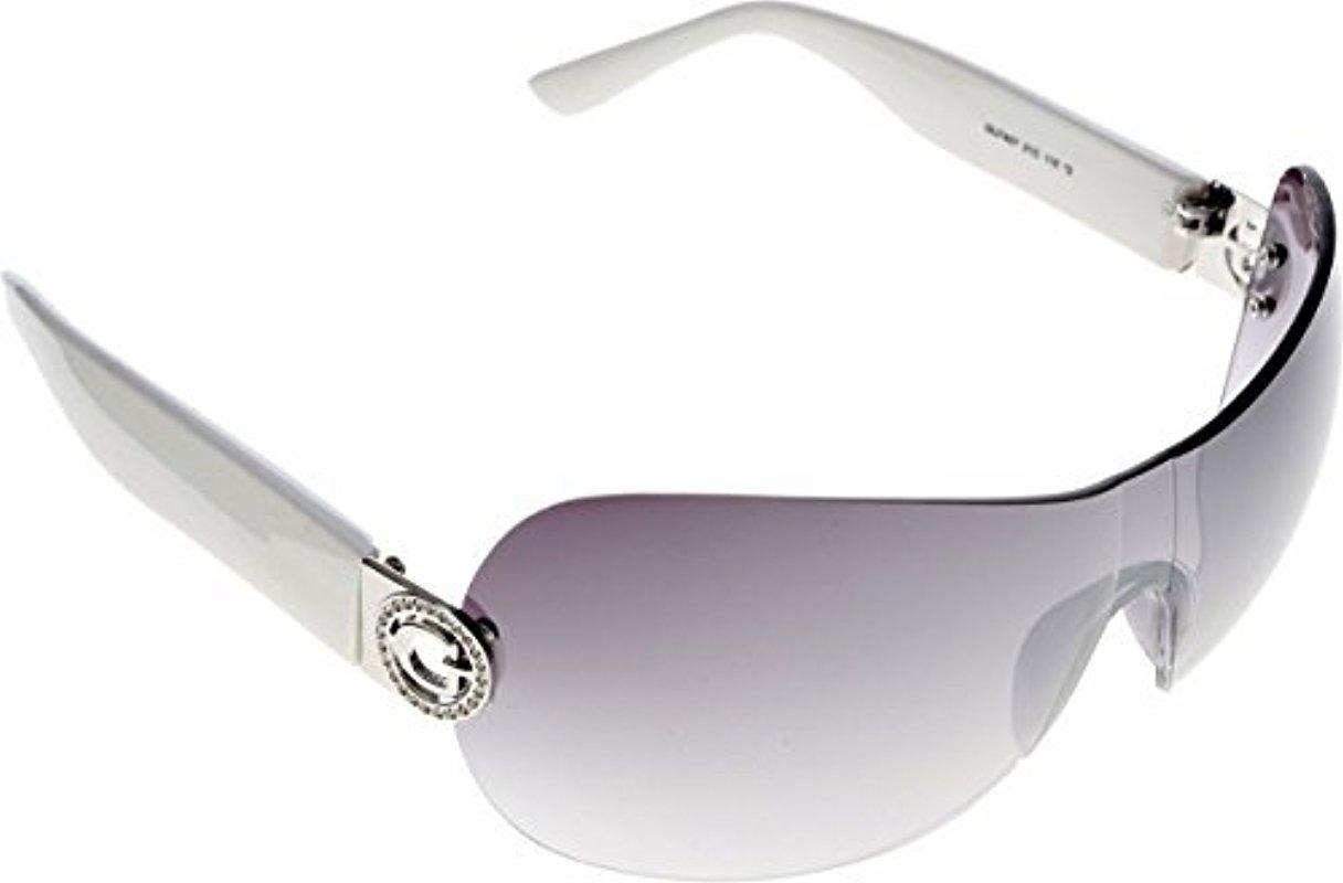 91c6c7f51 Guess Rimless Shield Sunglasses, 21c, 0 Mm - Lyst
