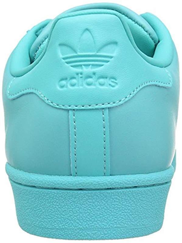 best website 6747e 23999 Adidas Originals - Blue Superstar Glossy Toe Fashion Running Shoe - Lyst.  View fullscreen