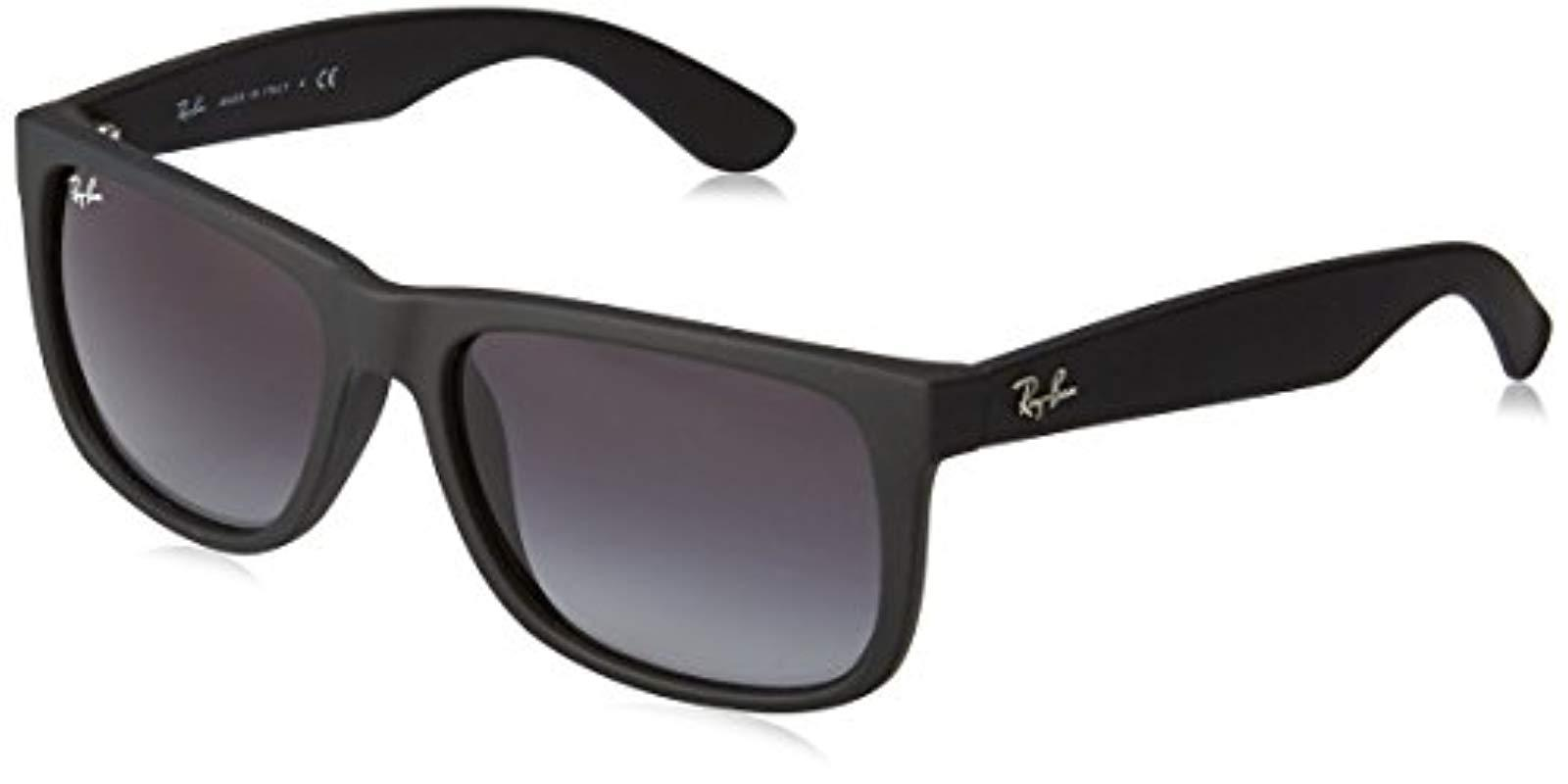 498f0374157 Ray-Ban Rb4165 Justin Sunglasses 54 Mm in Black for Men - Lyst