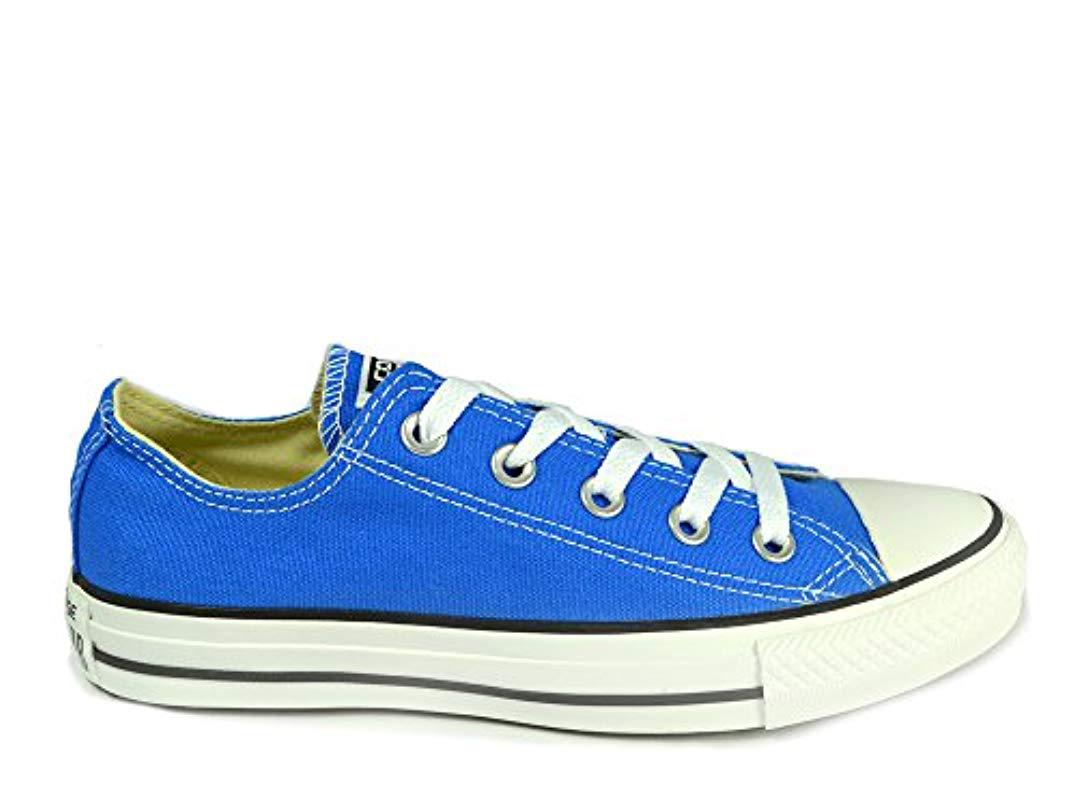 bf8a9a5a8864 Converse. Chuck Taylor All Star Ox Seasonal Colours Men s Shoes (trainers)  In Blue