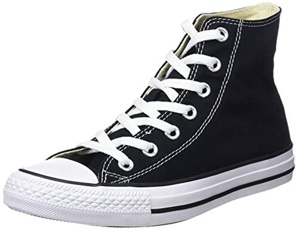 8b395a528a4c Converse - Black Adults  Chuck Taylor All Star for Men - Lyst. View  fullscreen