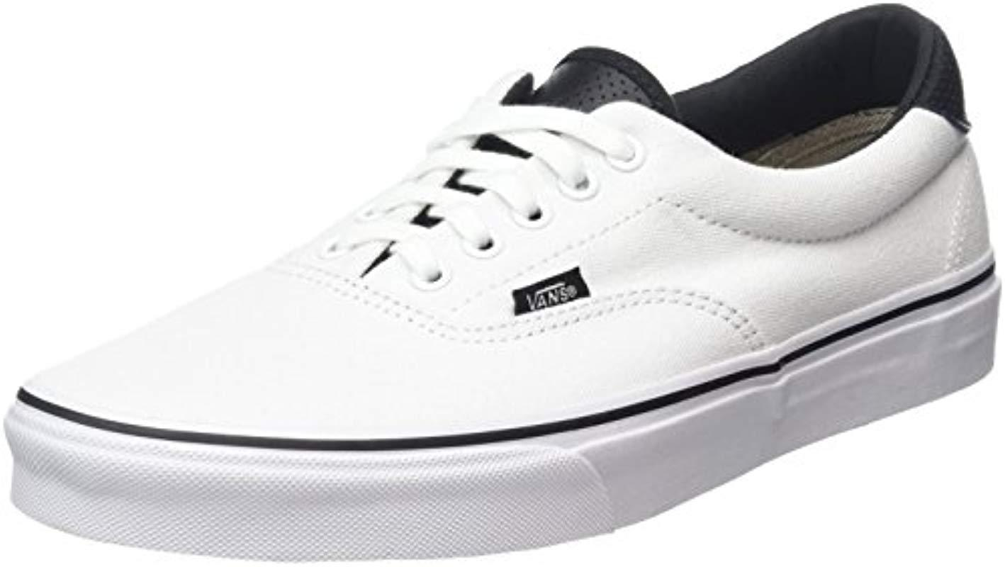 36bea6fa94 Vans Unisex Adults  Era 59 Low-top Sneakers in White for Men - Lyst