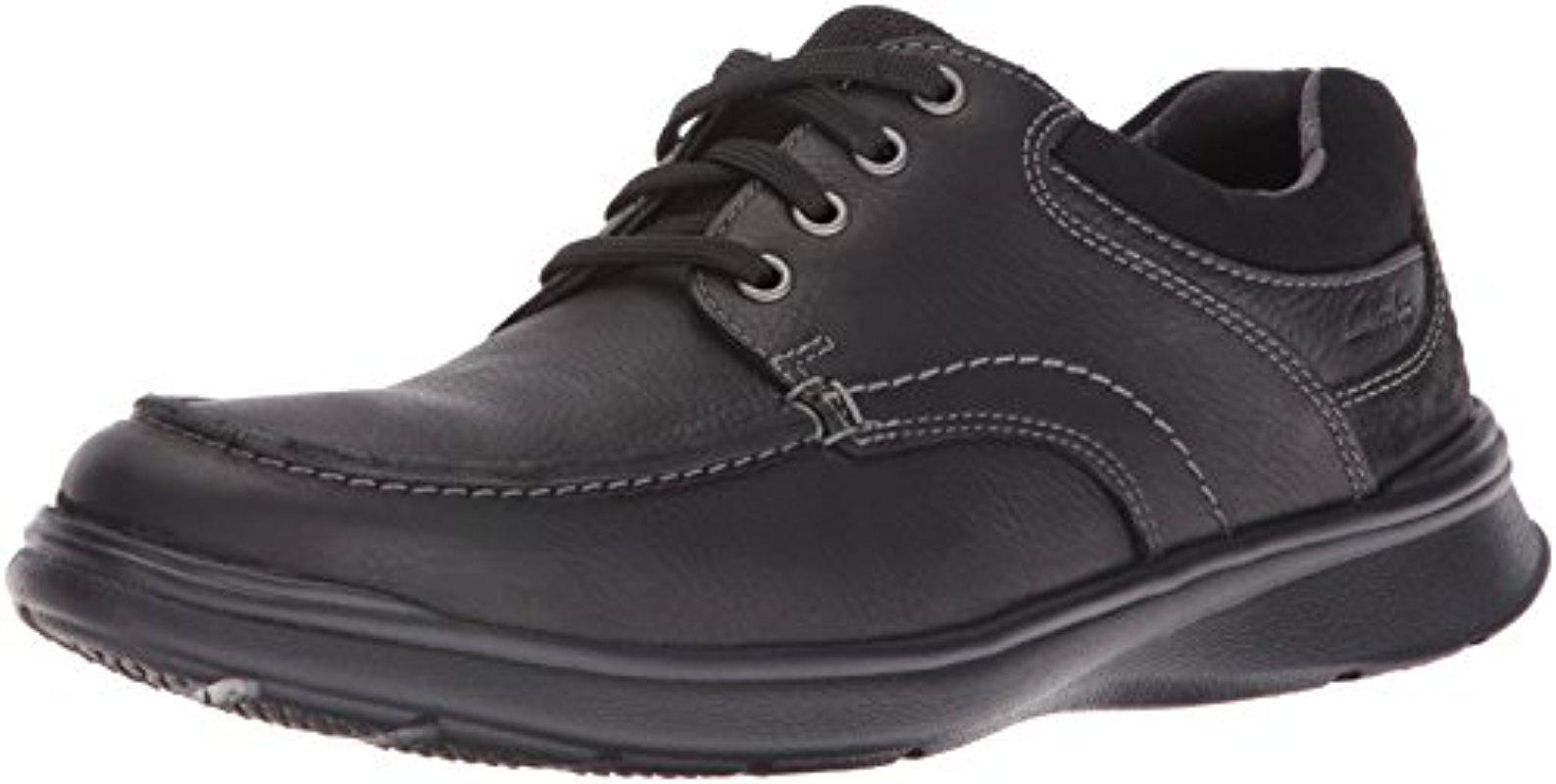 Clarks Cotrell Edge Leather Sneaker - Wide Width Available sO5nCAfh5D