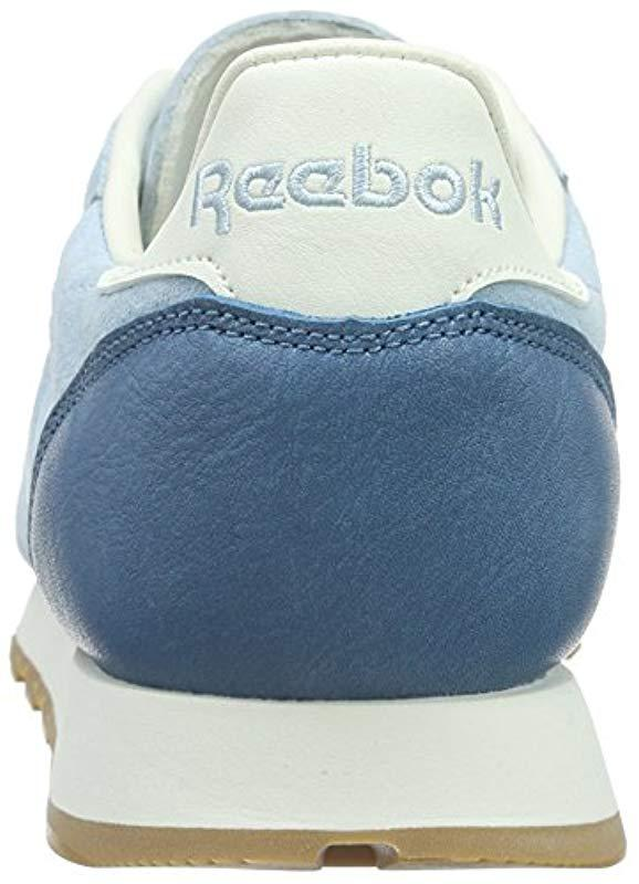 59e25bde148a0 Reebok - Blue Classic Leather Bread   Butter