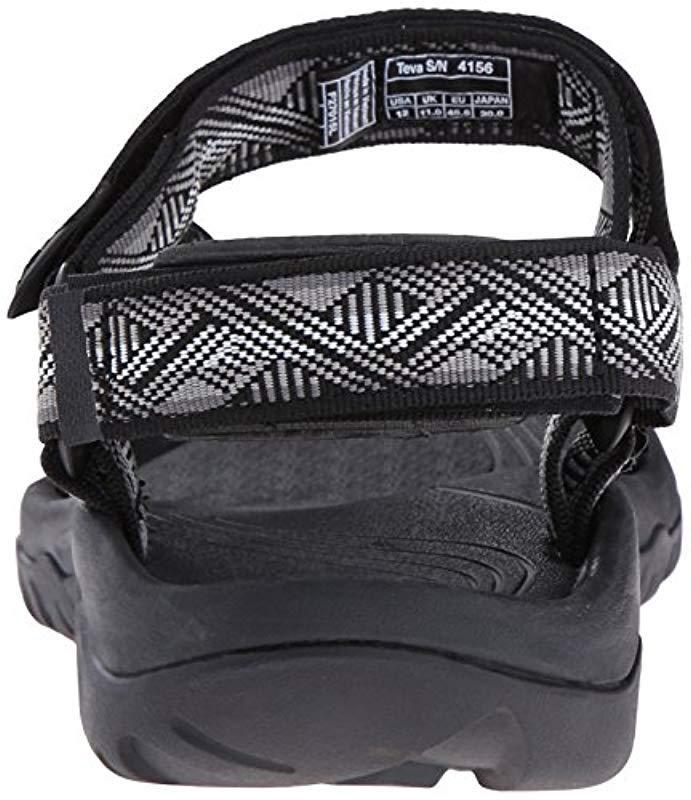 054fc5ef6df3 Teva - Black Hurricane Xlt M s Athleitc Sandals for Men - Lyst. View  fullscreen
