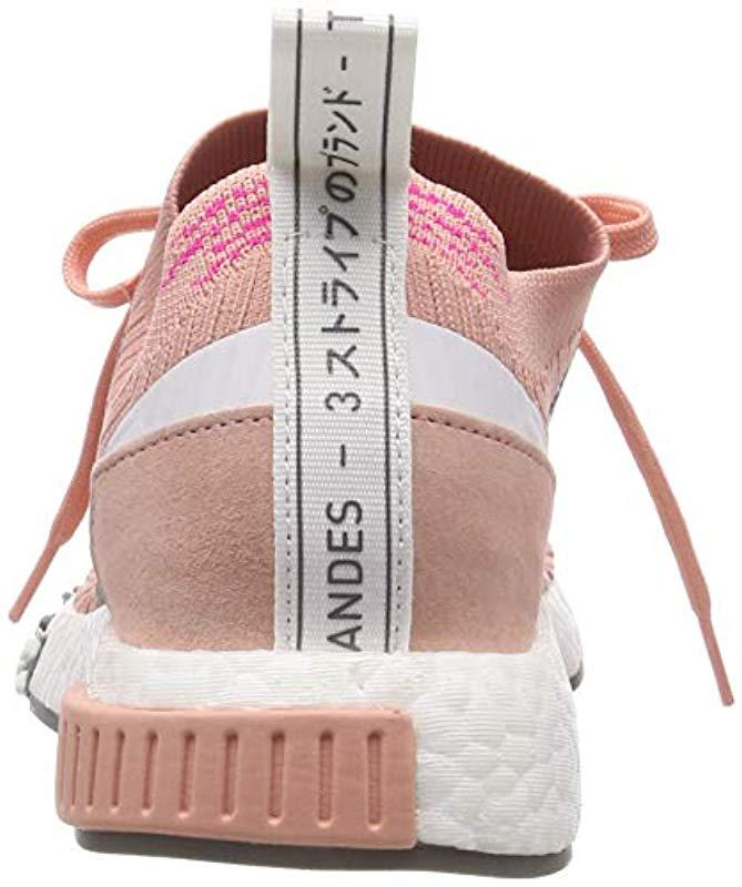 detailed look 099a0 bcc95 adidas s Nmdracer Pk W Gymnastics Shoes in Pink - Lyst