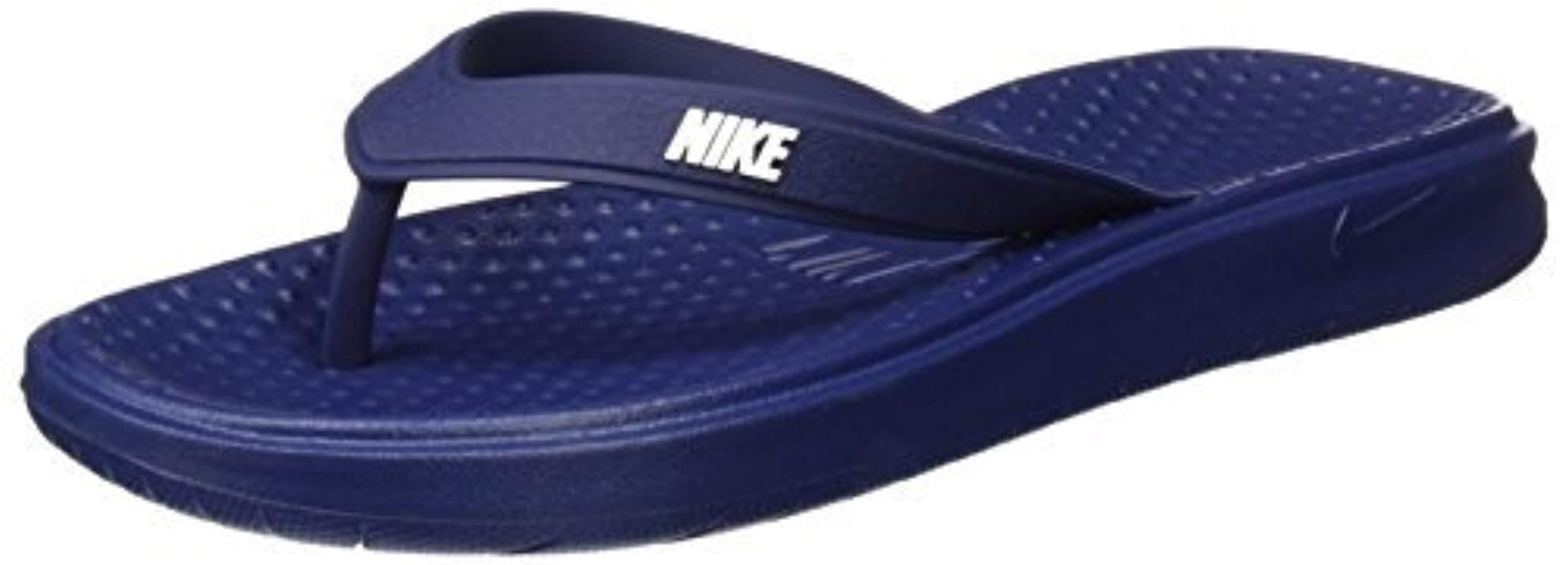 e665ffc7fb75 Lyst - Nike Solay Thong Sandal in Blue for Men