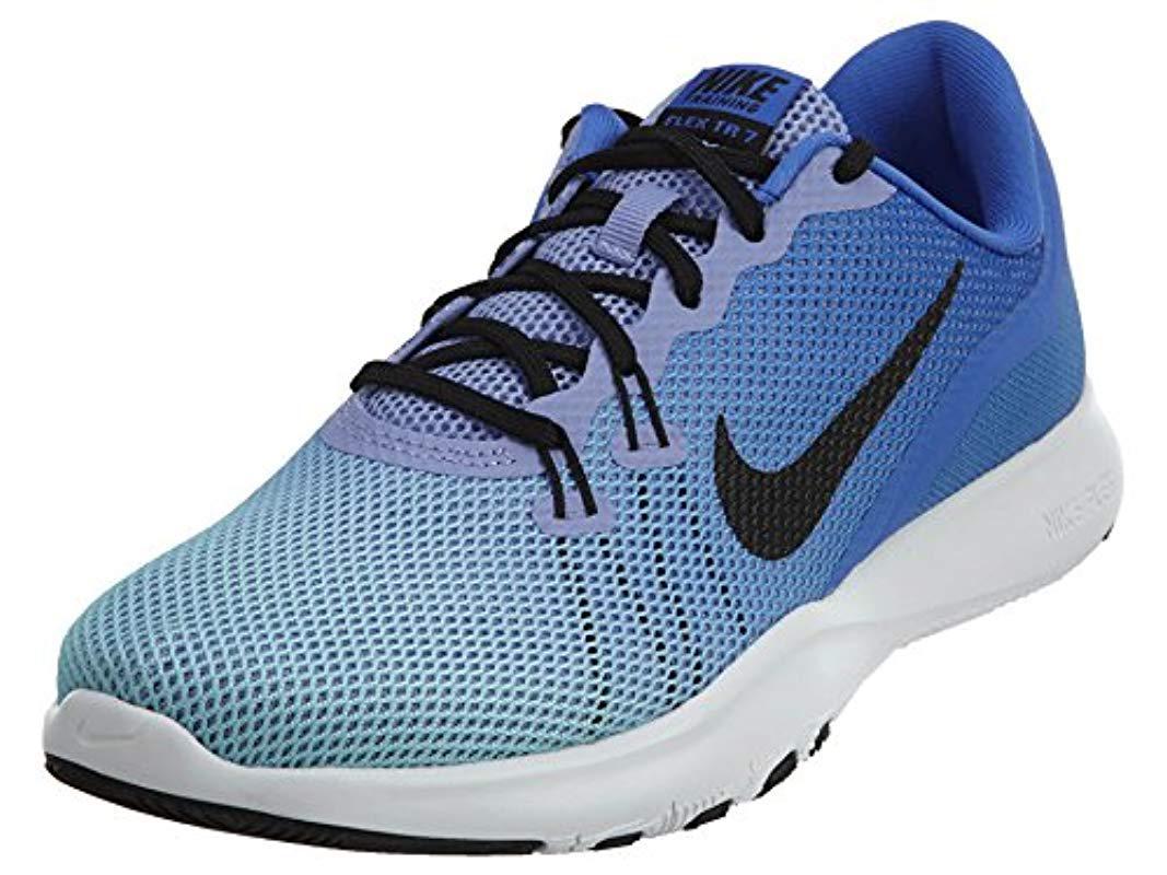06bfdab2695c Lyst - Nike Flex Trainer 7 Cross in Blue