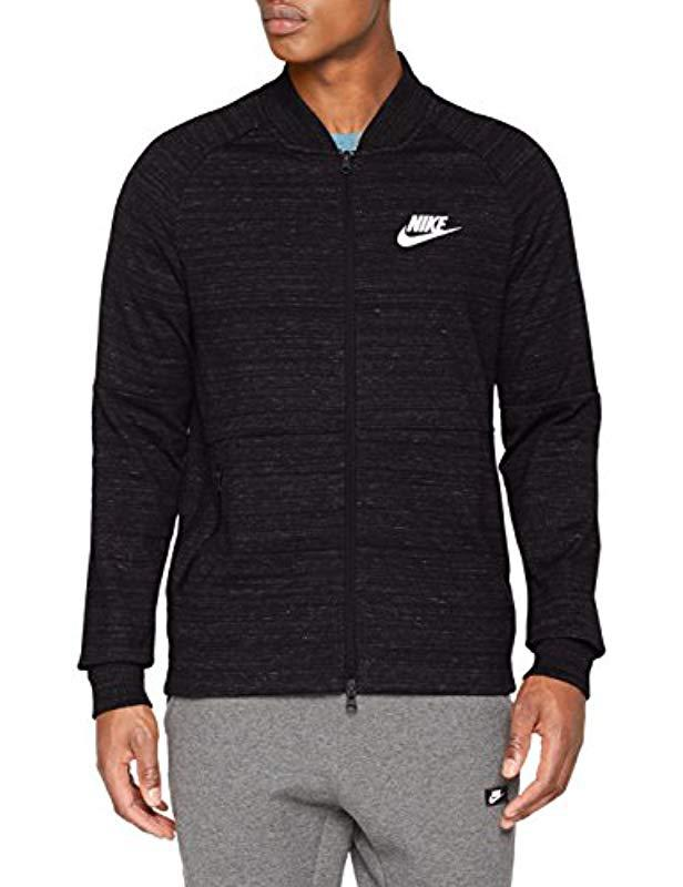 ae29f9957 Nike Sweatshirt in Black for Men - Lyst