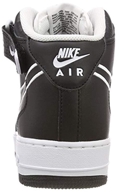 sale retailer 6d796 5f296 Nike - Air Force 1 Mid  07 Aq8650-001 Fitness Shoes, Multicolour (. View  fullscreen