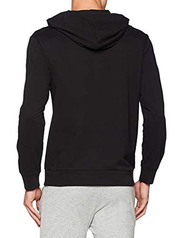 692a436f69fc Calvin Klein Full Zip Hoodie Jumper Grey in Black for Men - Save 31% - Lyst