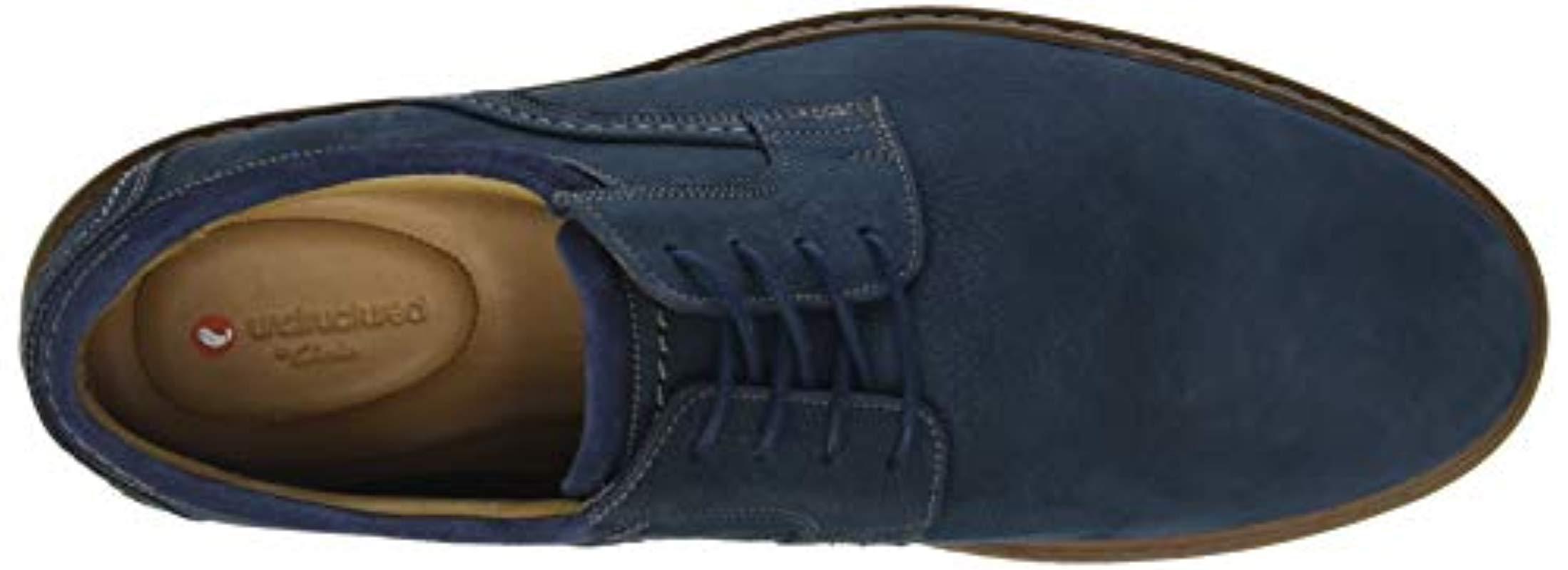 0383927b Clarks - Blue Un Geo Lace, Zapatos de Cordones Derby para Hombre for Men -.  Ver en pantalla completa