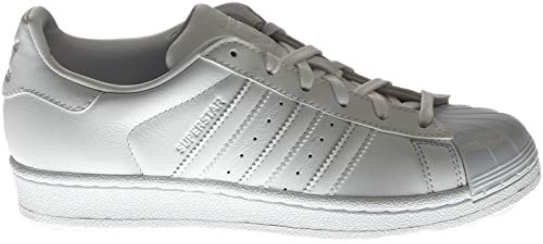 6a169194dcd Lyst - adidas Originals Superstar Glossy Toe Fashion Running Shoe in ...