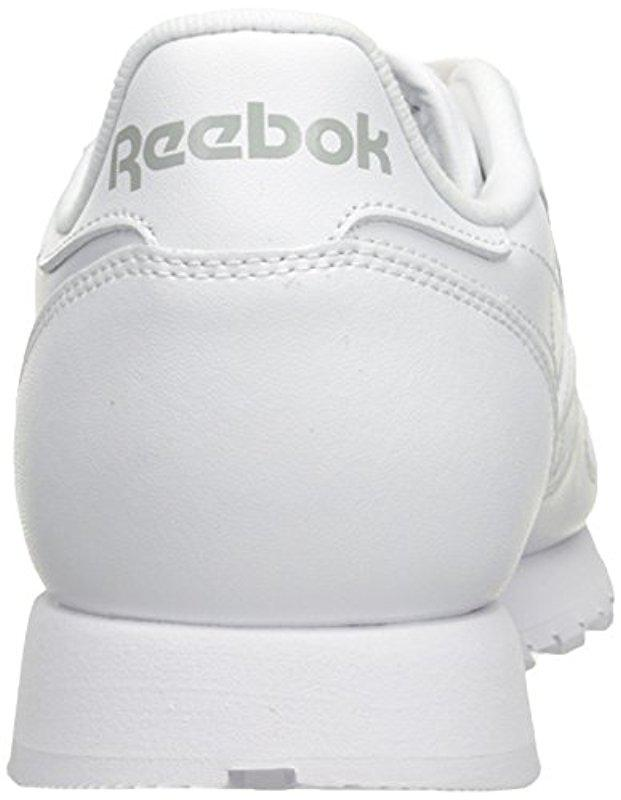 26d1ae7490f Lyst - Reebok Classic Leather Sneaker in White for Men - Save 28%