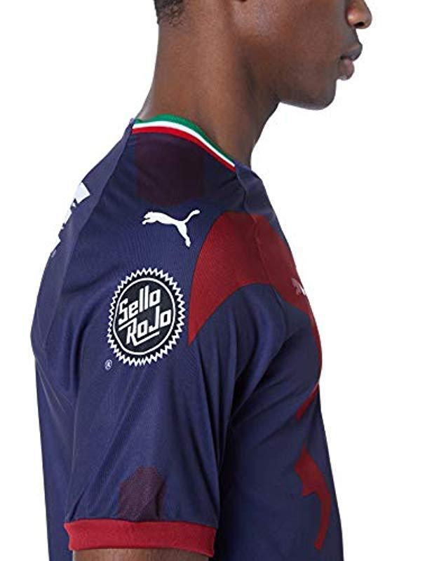 6efbcfb21f971 Lyst - PUMA Chivas Alt Shirt Replica 18 in Blue for Men - Save 7%