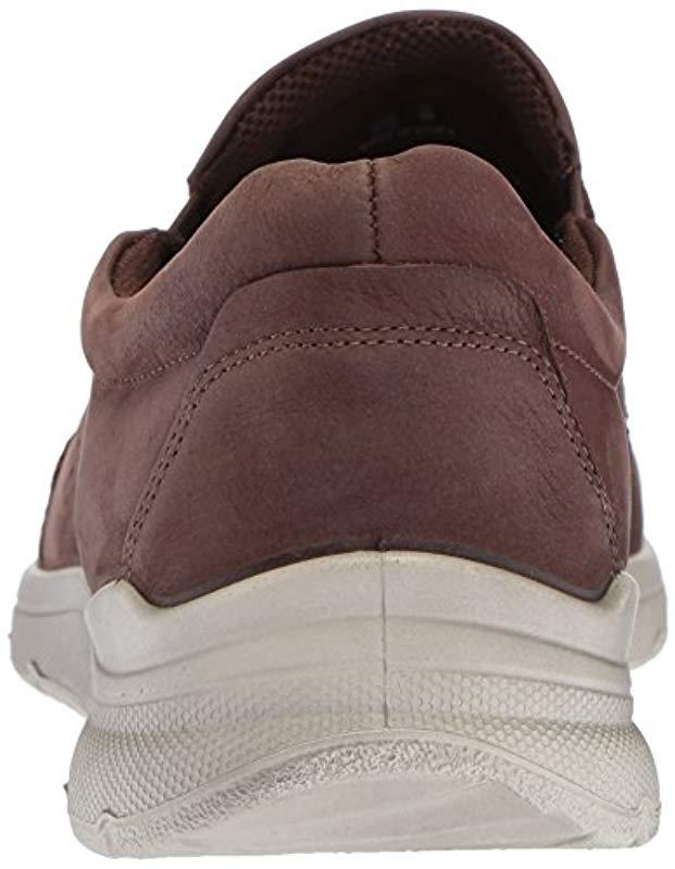 b6499f34cd3 Lyst - Ecco Irving Casual Slip On Slip-on Loafer in Brown for Men - Save 40%