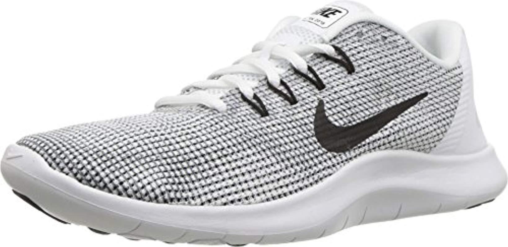f8f8110dbcf0f Nike  s Wmns Flex 2018 Rn Running Shoes in White - Lyst