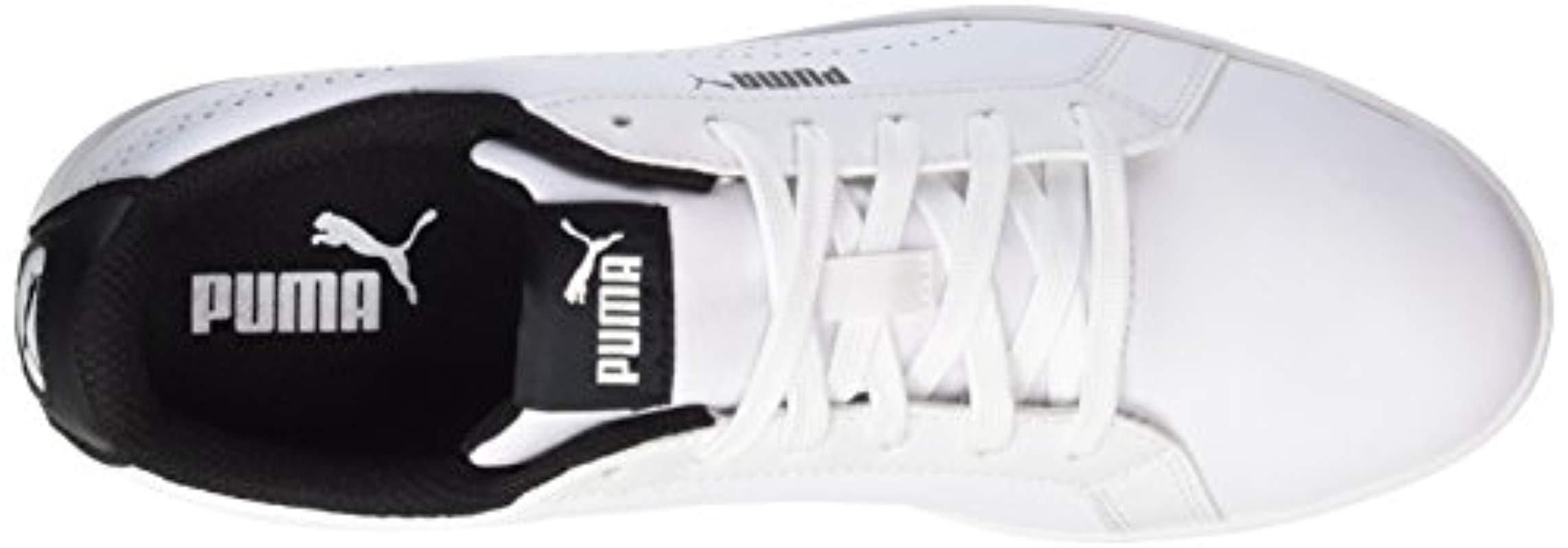Basses Puma En Blanc PerfSneakers Lyst Femme Coloris Smash UzGqpSMV