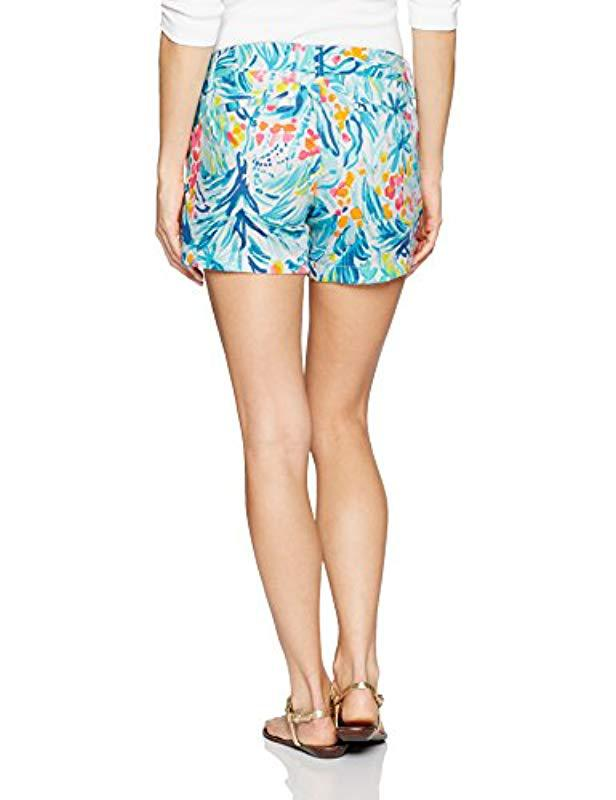 93beb3069d8ae6 Lyst - Lilly Pulitzer Callahan Short in Blue