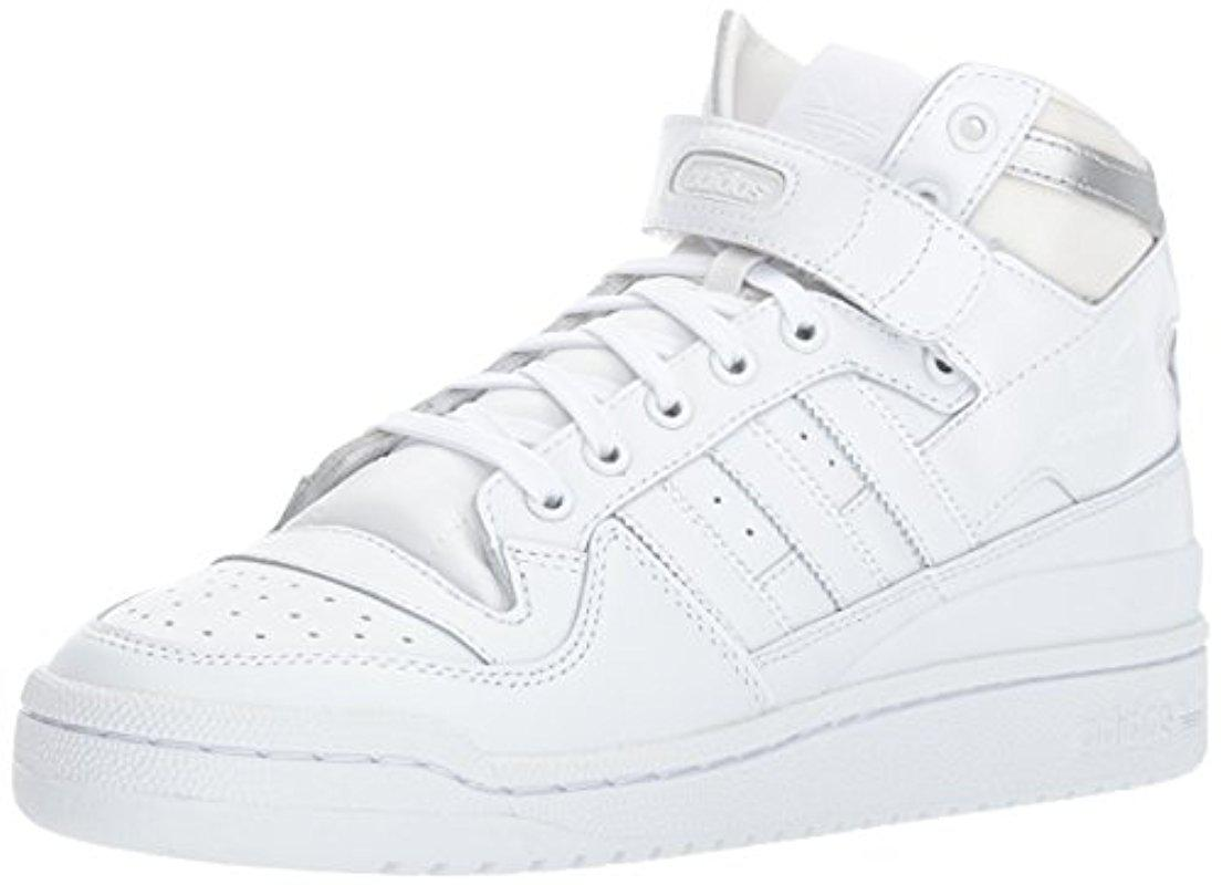 free shipping 56802 ed5bf Lyst - adidas Originals Shoes  Forum Mid Refined Sneakers, W