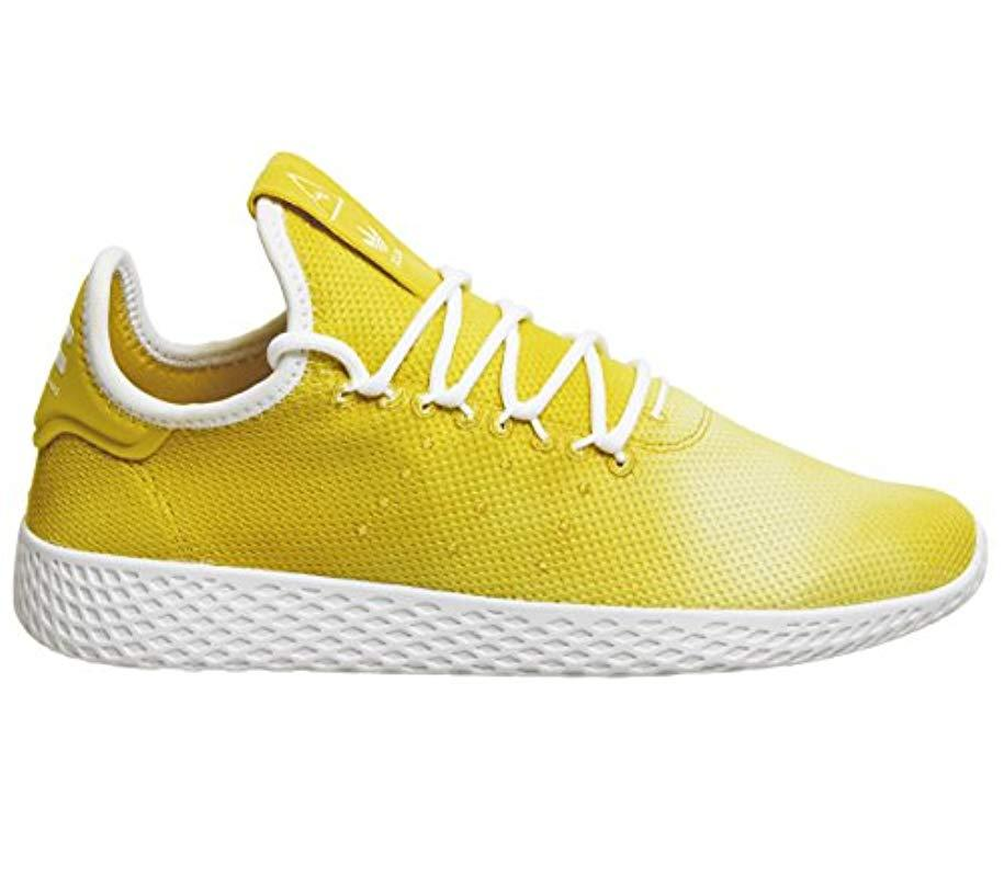c5cb92089ed9f adidas Pw Tennis Hu Fitness Shoes Black in Yellow for Men - Lyst