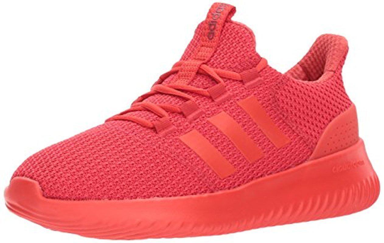 lyst adidas originali cloudfoam piu 'scarpe da corsa in rosso per gli uomini.