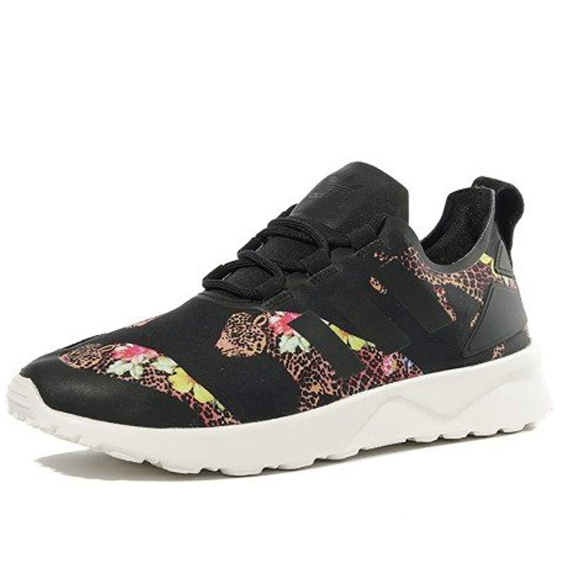 692efe99a adidas Zx Flux Adv Verve Low-top Sneakers in Black - Lyst