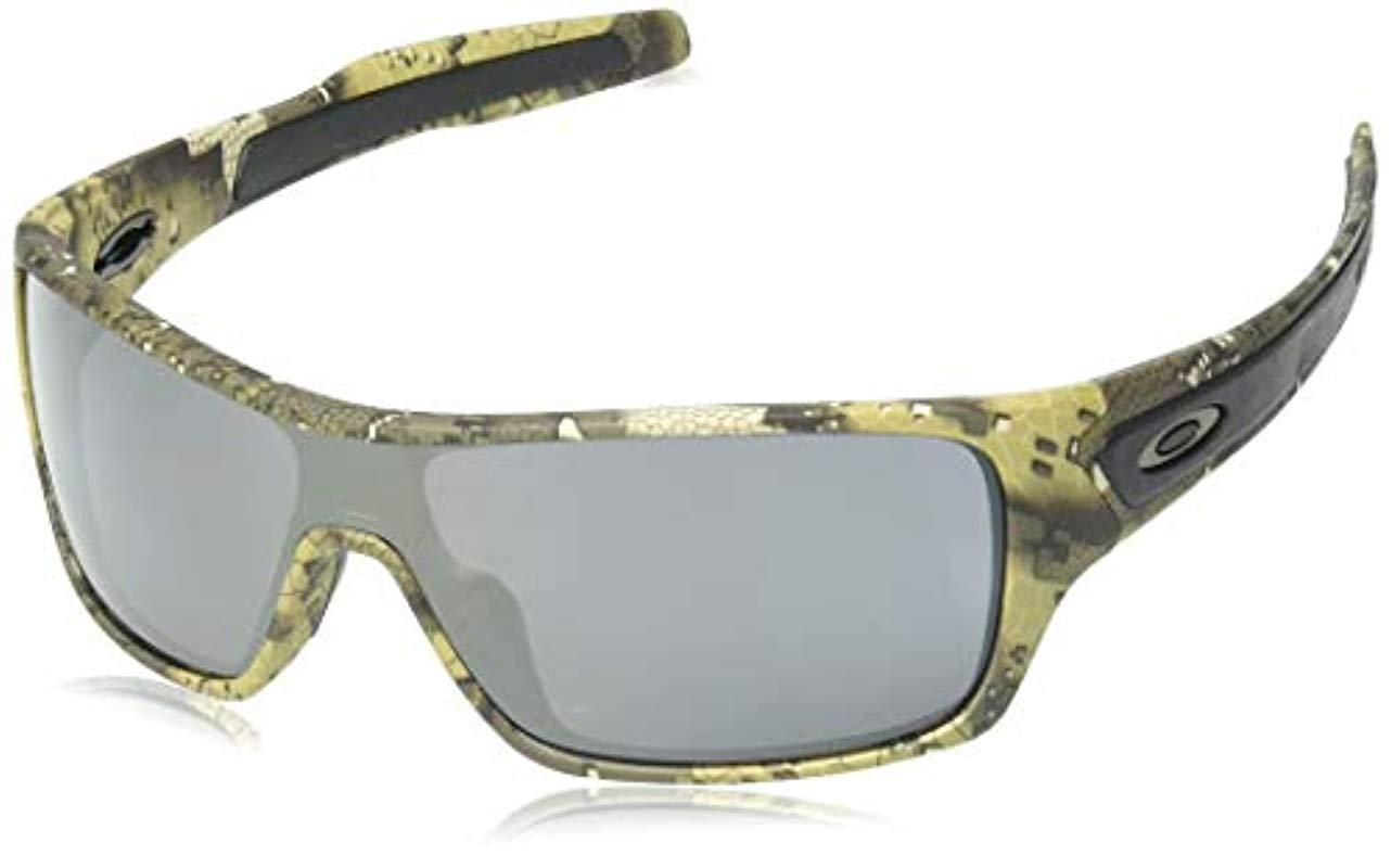 cce5840385 Oakley. Men s Turbine Rotor Non-polarized Iridium Rectangular Sunglasses