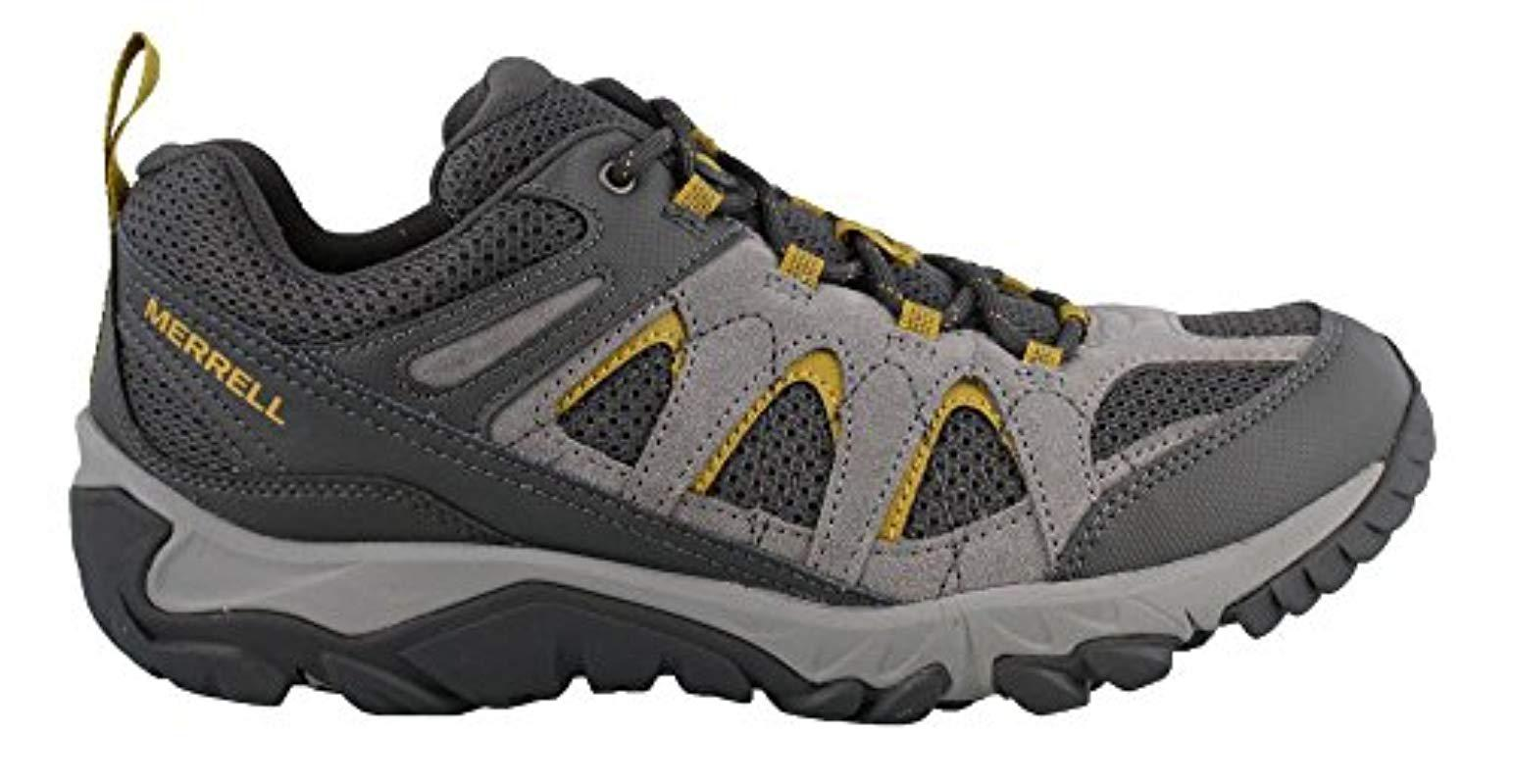 3f9584a7681 Lyst - Merrell Outmost Vent Hiking Boot, Frost Grey, 08.0 M Us in Gray