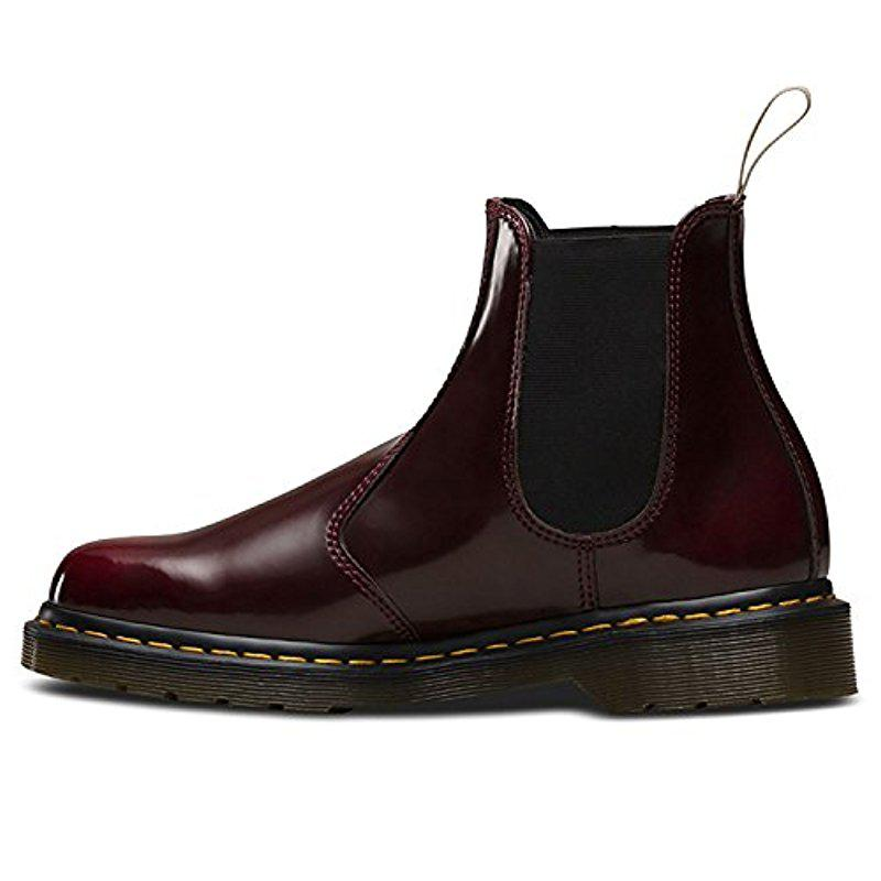 lowest price 64ef2 cc577 Dr.Martens 2976 Vegan Chelsea Cambridge Cherry Unisex Mens ...