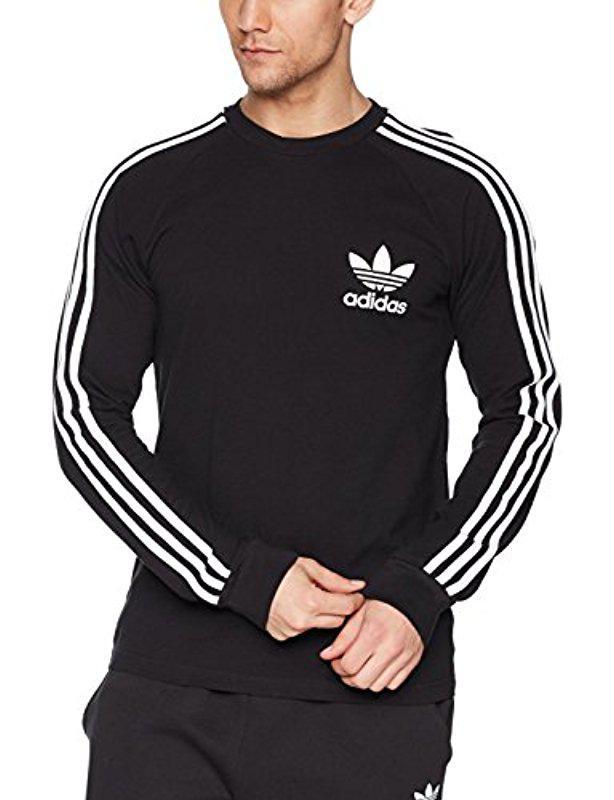 08345a1d Lyst - adidas Originals Logo Jacquard Tee in Black for Men