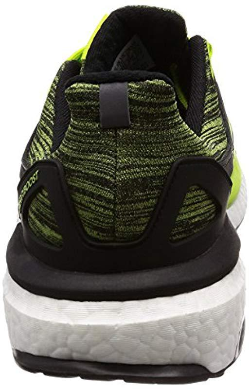 brand new d300f 0924e Adidas - Green Energy Boost M Running Shoes for Men - Lyst