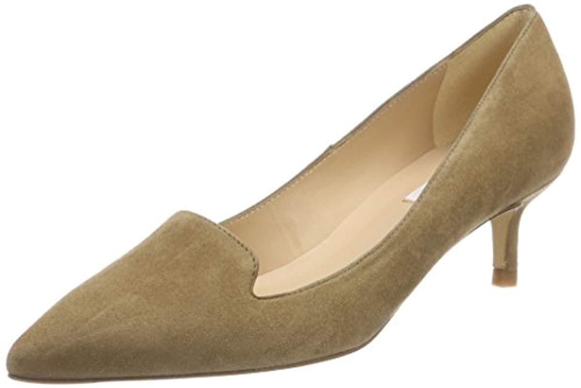 23ea5cd52a83 L.K.Bennett Susan Closed Toe Heels in Brown - Lyst